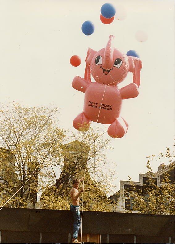 1995 Pink elephant